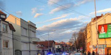 Policija traga za vozilom; foto: čitalac, JV