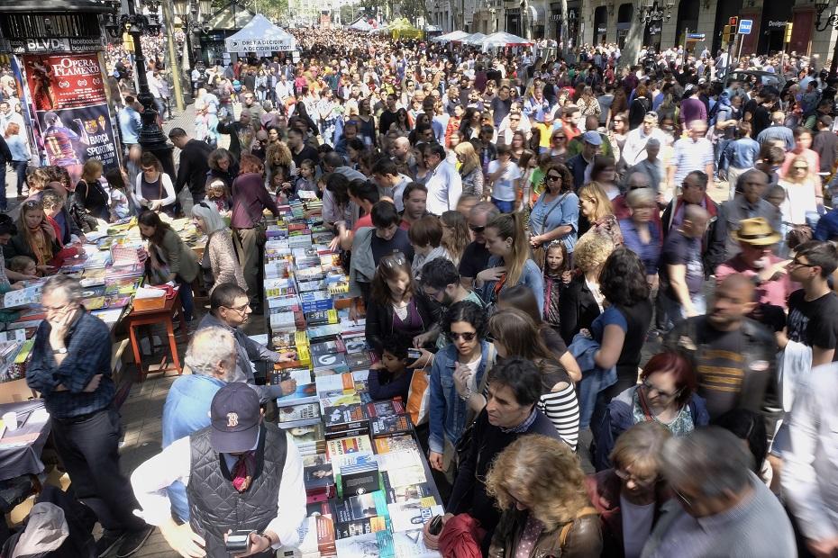 Foto: Mane Espinosa, centar Barselone na dan Svetog Đorđa