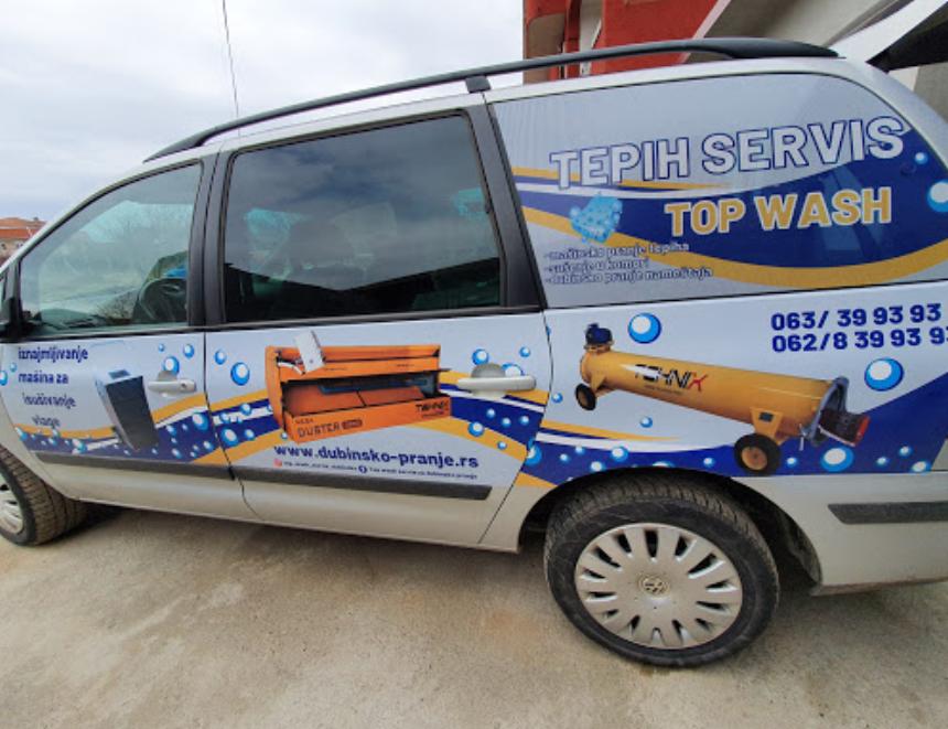 Vozilo Top Wash servisa