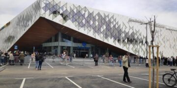 """Otvaranje najnovijeg tržnog centra u Nišu -""""Delta planeta""""; foto: T. T."""