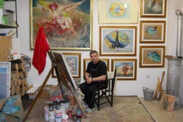 Niškom umetniku nagrada na Bijenalu akvarela u Beogradu;foto:privatna arhiva