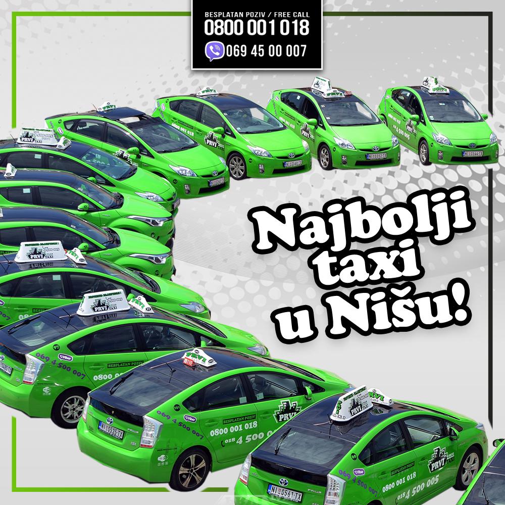 Prvi Taxi – Najbolji taksi u Nišu!