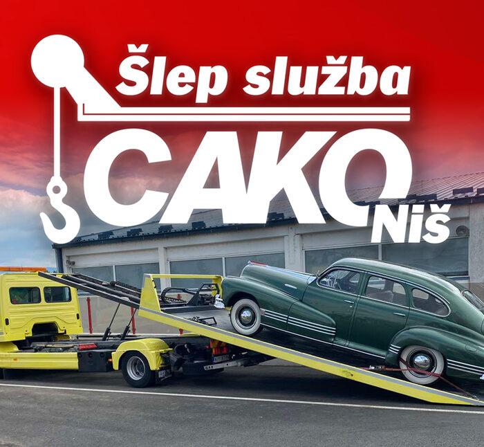 Auto Centar Cako – Šlep služba Niš – CAKO – Prevoz vozila, automobila, gradjevinskih mašina, mini bagera, čamaca, viljuškara i kontejnera