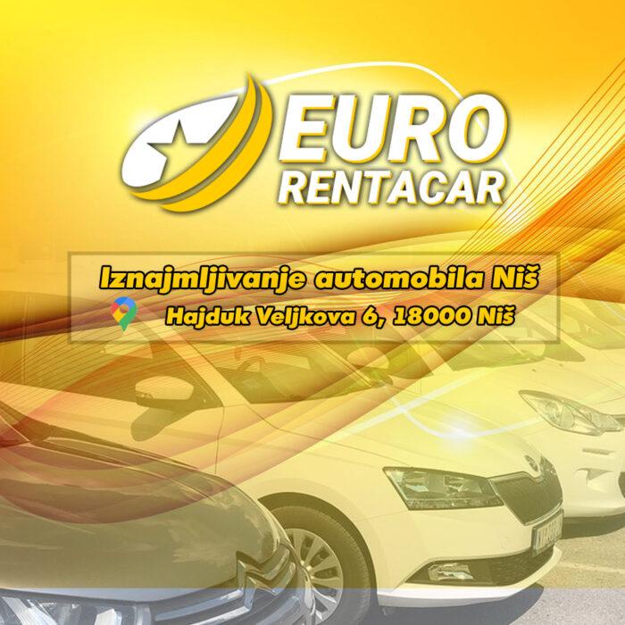 EURO Rent a car Niš – Najbolji rent a car u Nišu