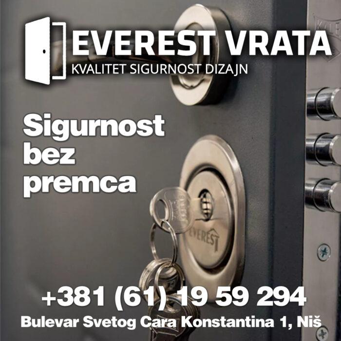 Ulazna vrata | Sigurnosna vrata | Blindirana vrata | EVEREST