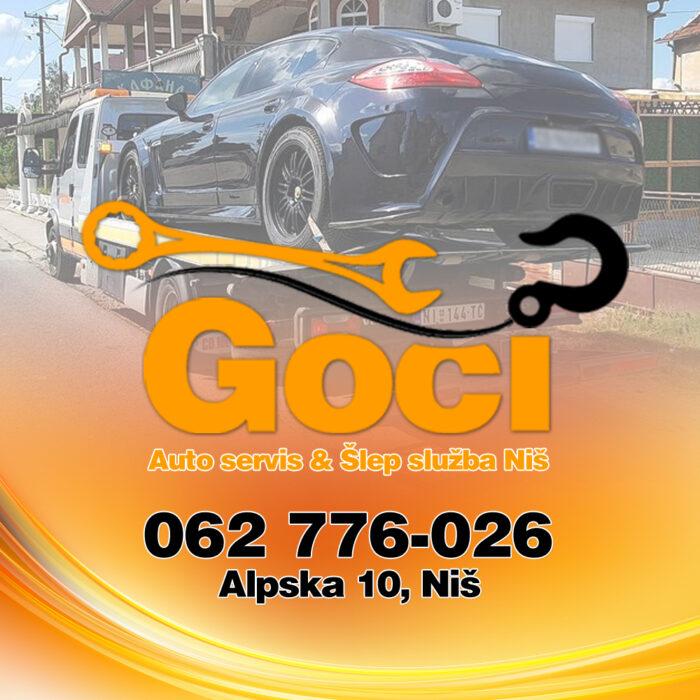 Šlep služba Kopaonik – GOCI (Towing Service – Abschleppdienst)