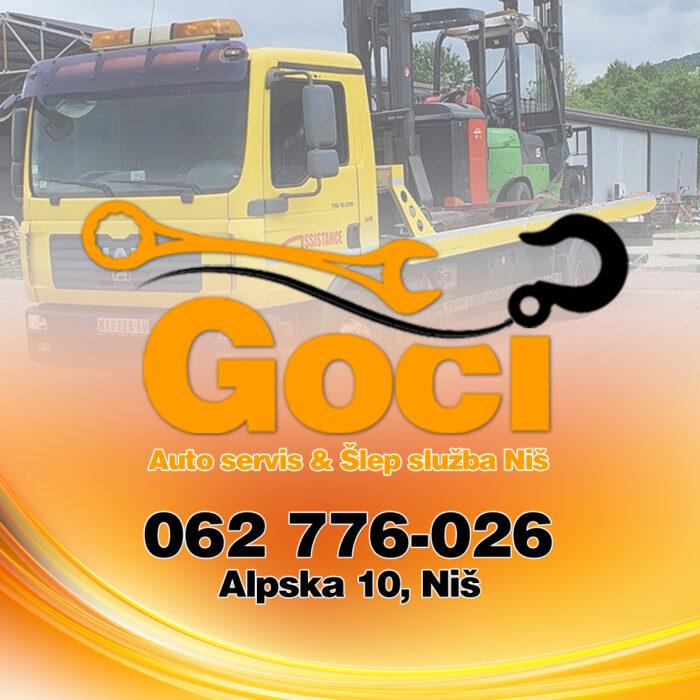 Šlep služba Stara Planina – GOCI – (Towing Service – Abschleppdienst)
