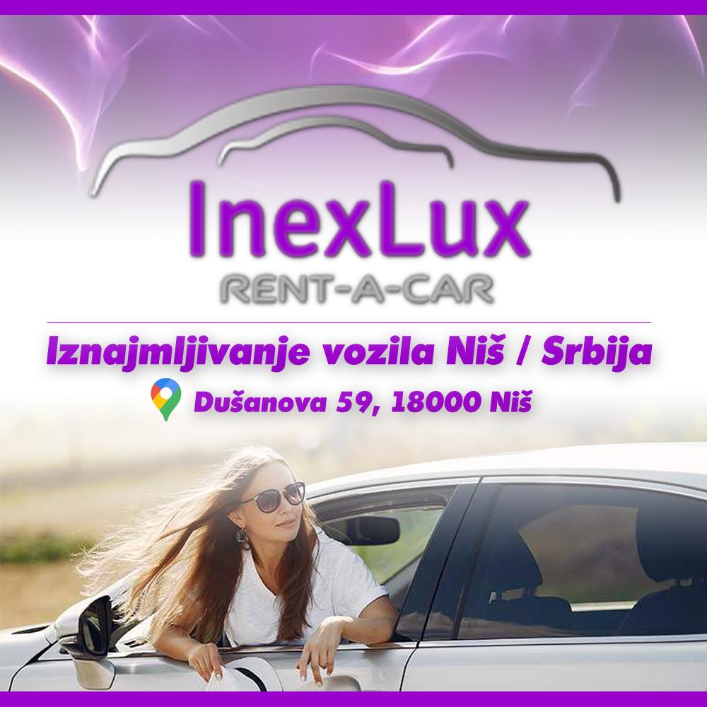 InexLux Rent a Car – Iznajmljivanje automobila Niš